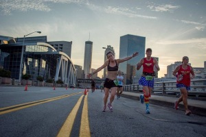 Beautiful skyline picture in The ATL 20K.